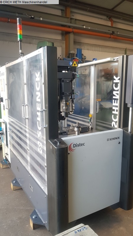 used Other Metal Processing Balancing Machine SCHENK RoTec DISTEC