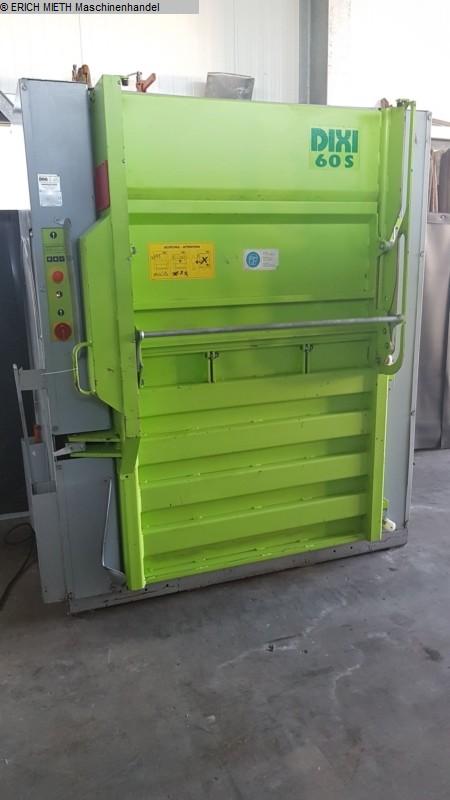 gebrauchte Papierverarbeitung Ballenpresse DIXI DIXI 60 SH