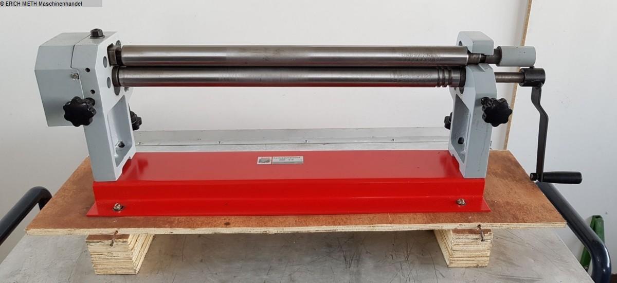 used Plate Bending Machine - 3 Rolls HOLZMANN RBM 610