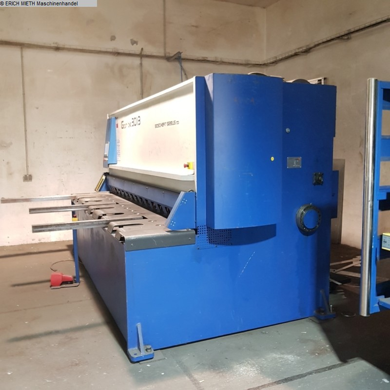 gebruikte plaatbewerking / scheerapparaten / buigplaatschaar - hydraulisch BOSCHERT G - CUT - CNC