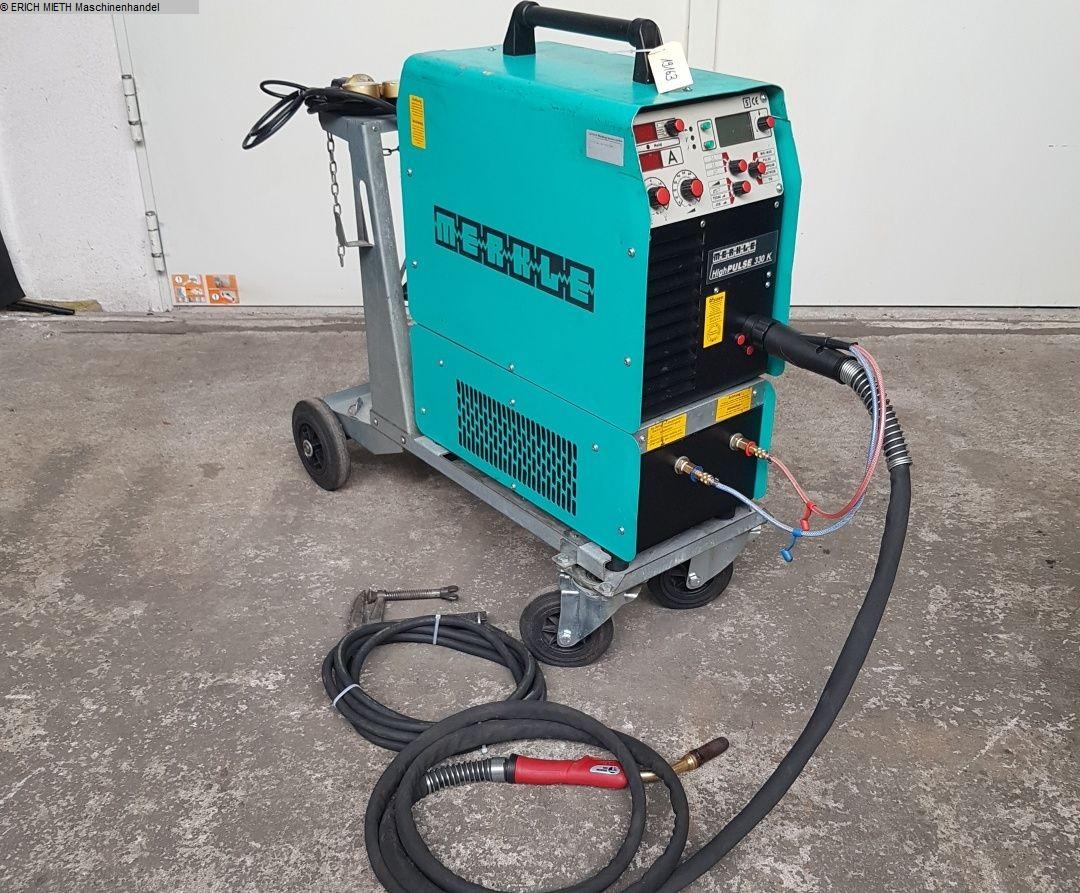 used Protective Gas Welding Machine MERKLE High PULSE 330 K