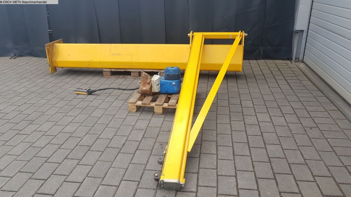used Other attachments Pillar Type Swivelling Crane DEMAG KBK 1000 Kg