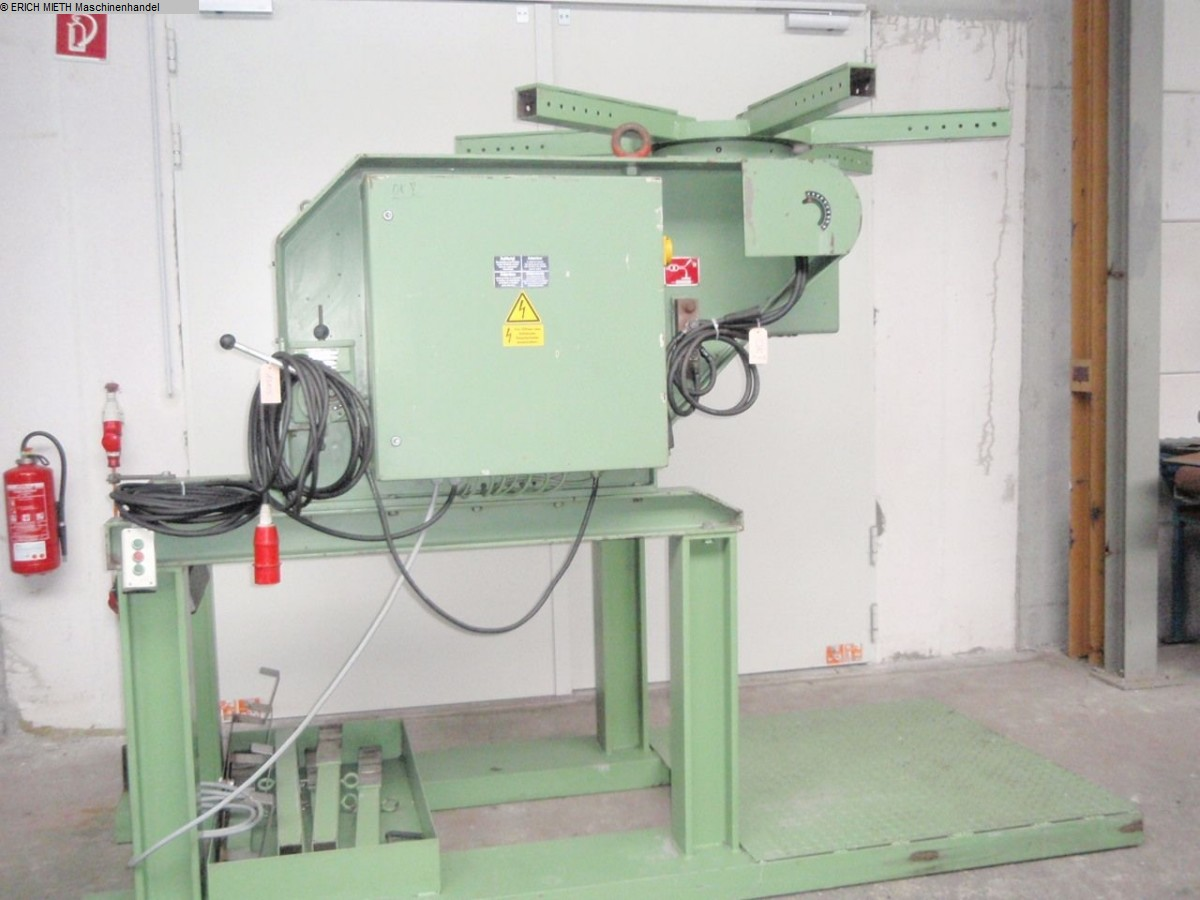 used Welding machines Rotary Welding Table DEUMA KDT – 3000 G
