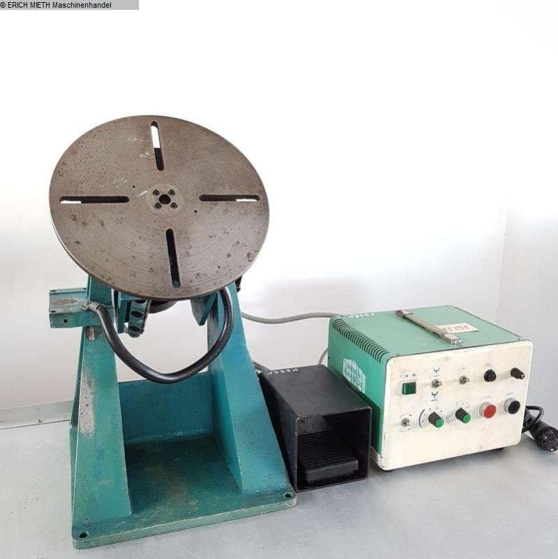 used Welding machines Rotary Welding Table UNION CARPIDE TT 50