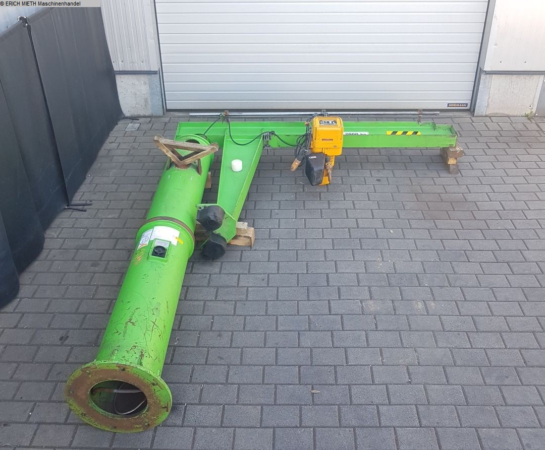 gebrauchte verschiedene Einrichtungen Säulenschwenkkran FRERICHMANN VETTER M 20 - 2.5