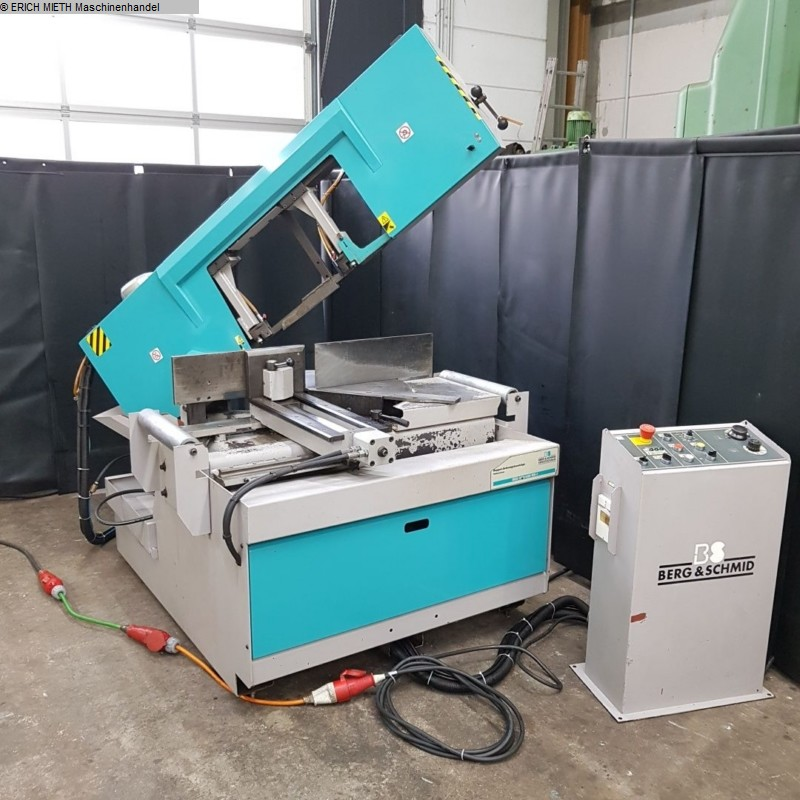 used Saws Belt saw machine BERG & SCHMID DGS 350-450HA-I