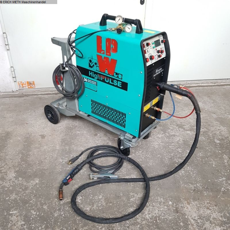gebrauchte Schutzgasschweißanlage MERKLE High PULSE 330 K