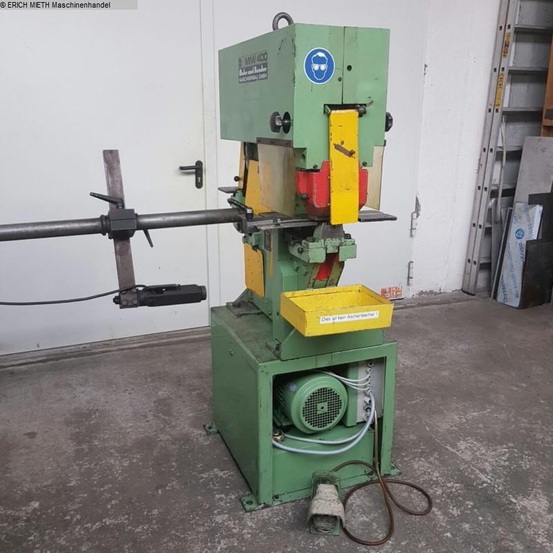 rabljeni strojevi za obradu limova / šahtovi / savijanje šipki Mašine za šišanje MUBEA MIW 400