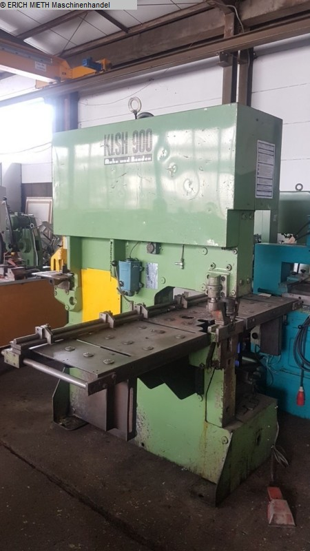 used Sheet metal working / shaeres / bending Bar Stock Shearing Machines MUHR & BENDER KLSH 900