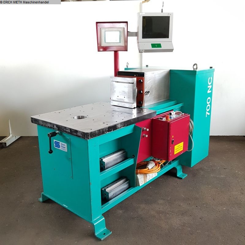 tweedehands Plaatbewerkingsmachines / snijmachines / buigmachine horizontaal STIERLI 700 NC - CE