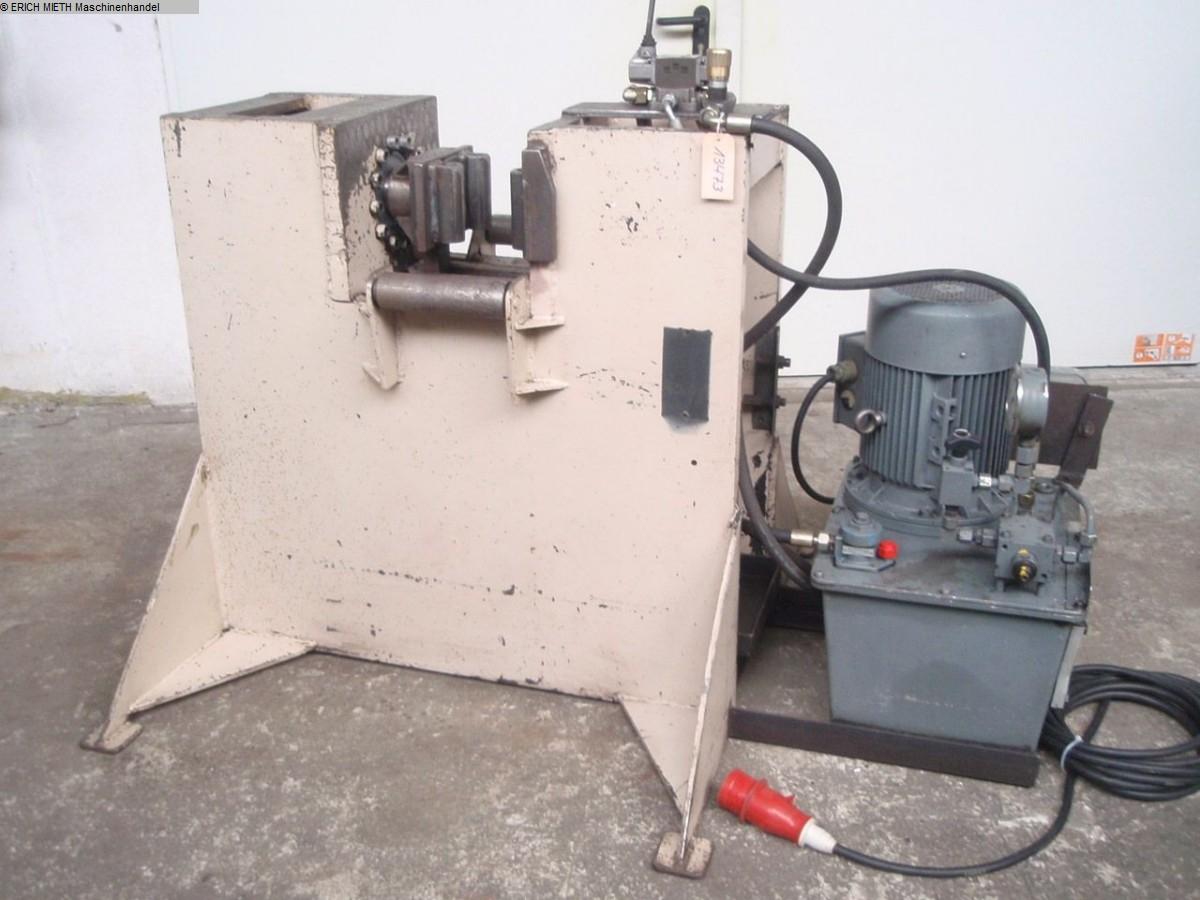 rabljeni strojevi za savijanje lima / dijelovi / stroj za savijanje horizontalno VEB ca.60T