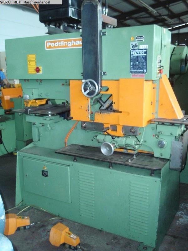 gebrauchte Blechbearbeitung / Scheren / Biegen / Richten Stabstahlschere PEDDINGHAUS Peddimaster 800/1100 H