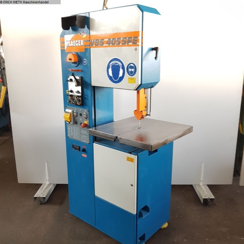 used Band Saw - Vertical KLAEGER VBS 405 SFE