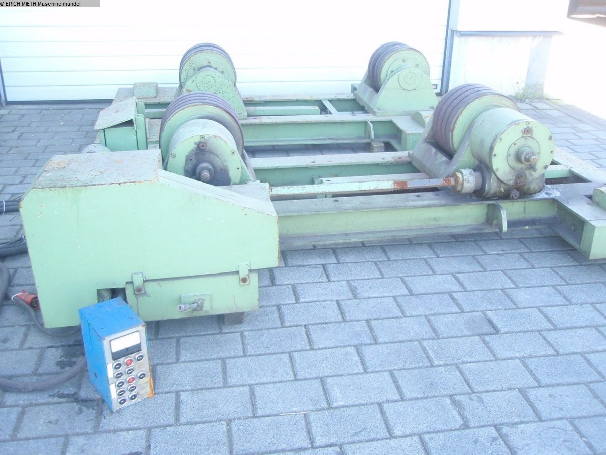 used Sheet metal working / shaeres / bending Vessel Turning Unit DEUMA - HEITZE DEUMA - HEITZE