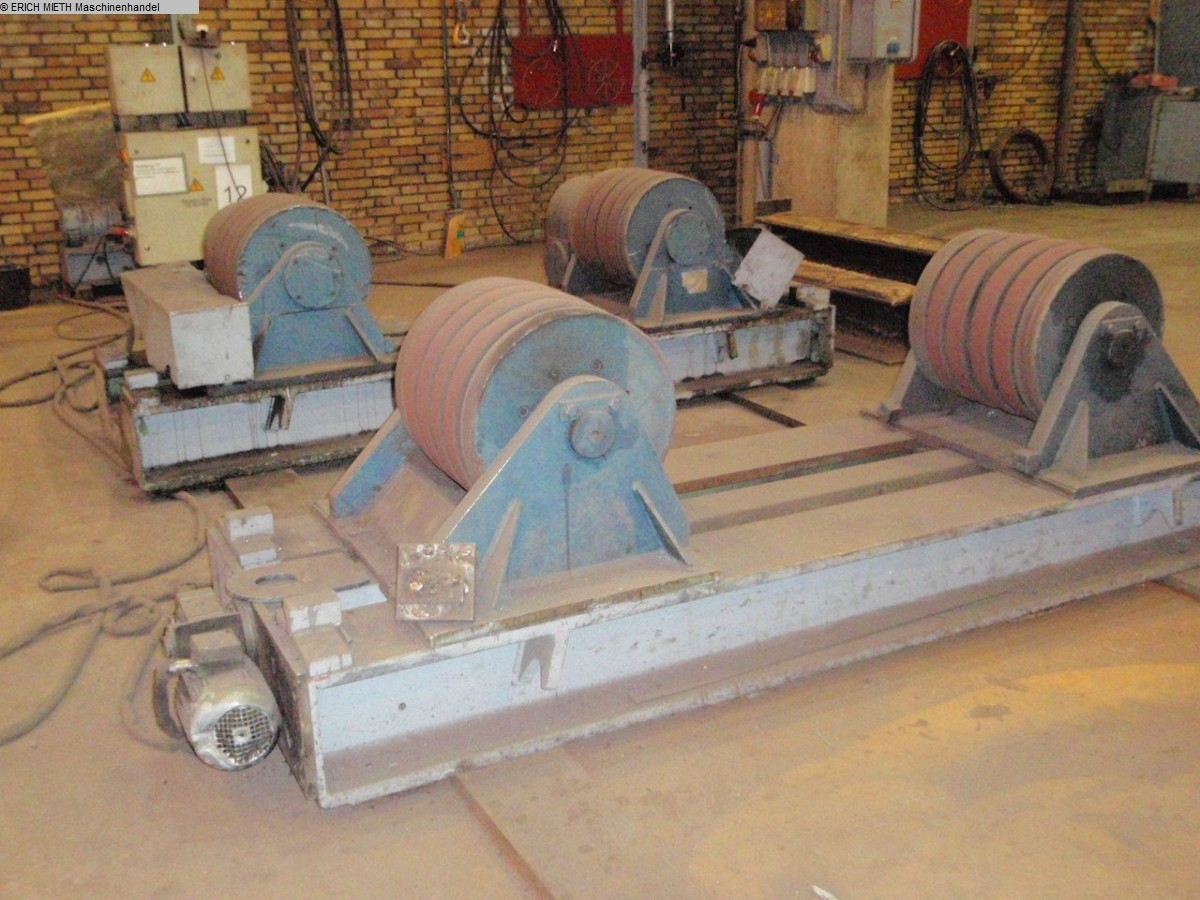 used Sheet metal working / shaeres / bending Vessel Turning Unit HEINRICHSGLUECK RB 60 E