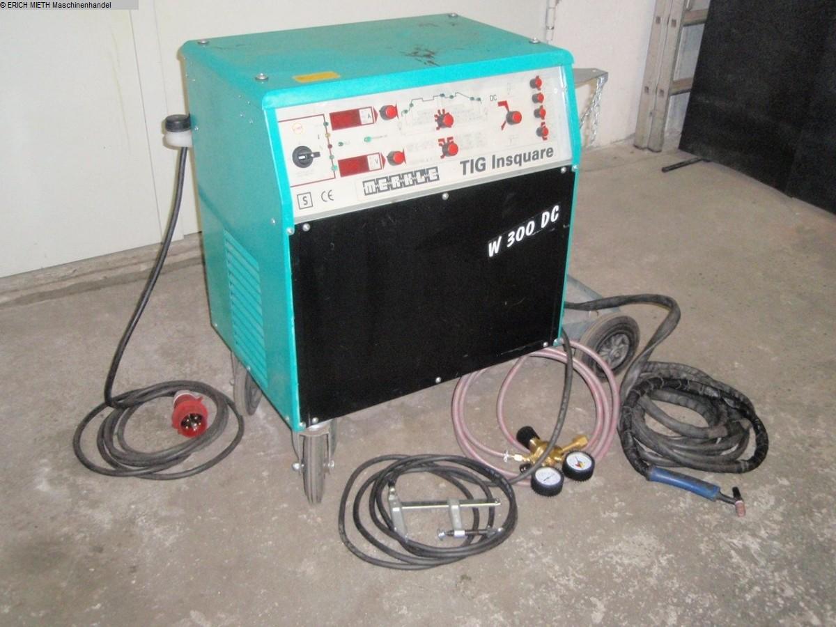 used Welding machines WIG-Welder MERKLE Insquare W 300 DC