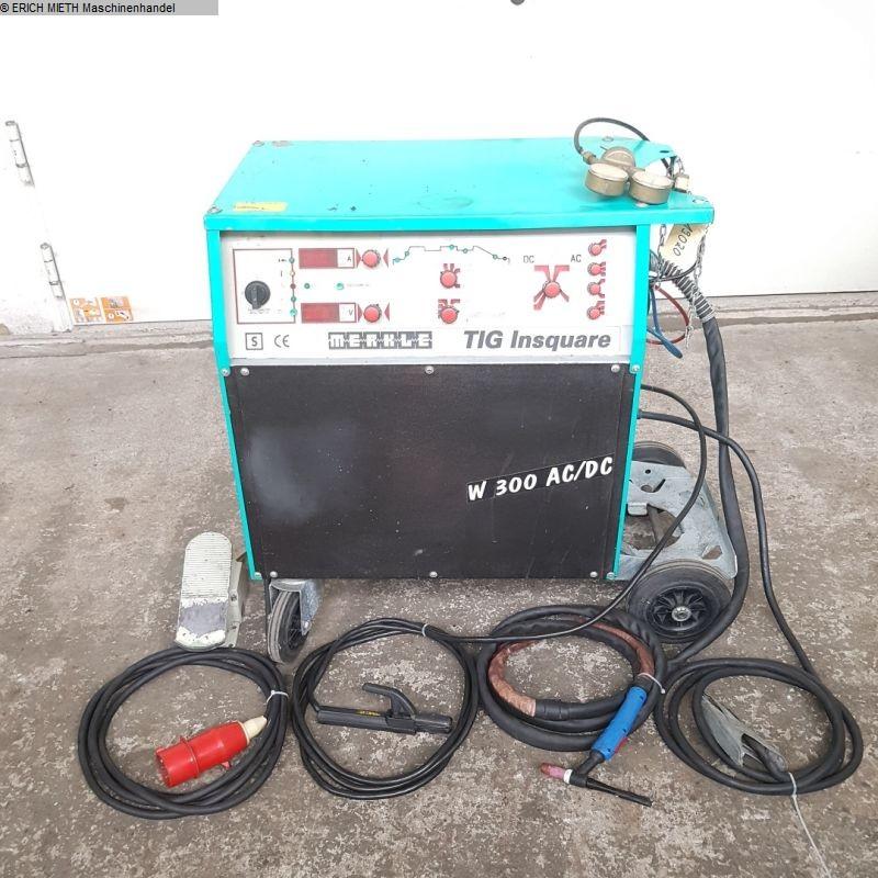 used Welding machines WIG-Welder MERKLE Insquare W 300 AC - DC