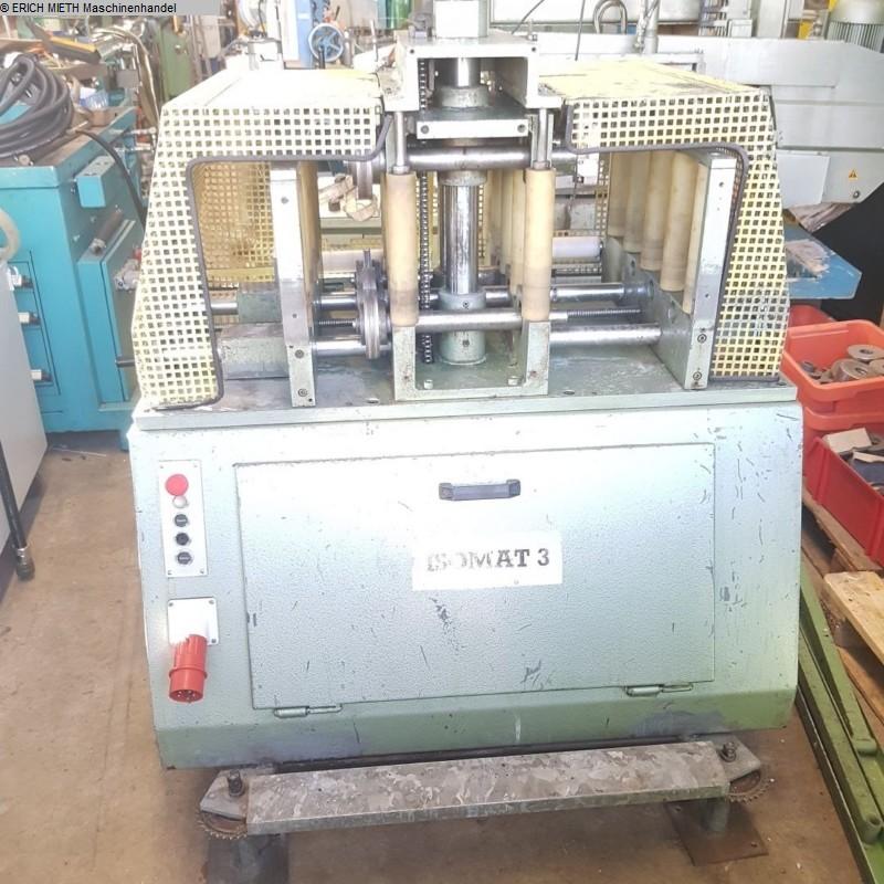producción de ventanas usada: máquina de ventanas de madera, pvc y aluminio SCHÜCO ISOMAT III