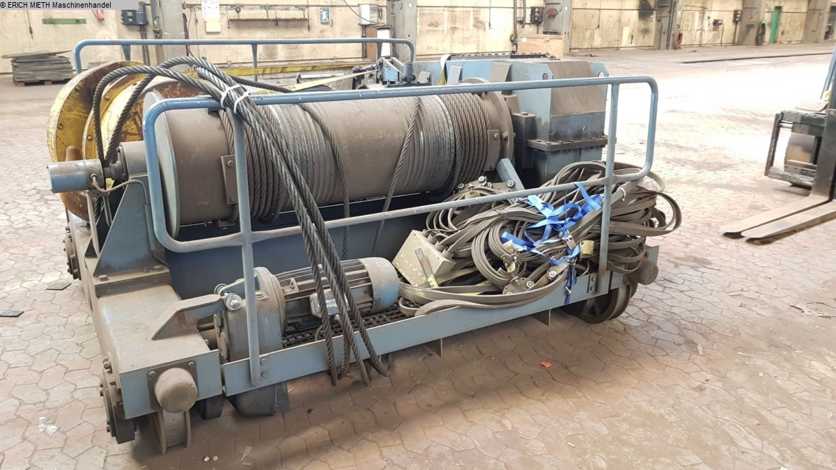 gebrauchte verschiedene Einrichtungen Brückenlaufkran - Zweiträger DEMAG-DICKERTMANN 25T x 19.4m