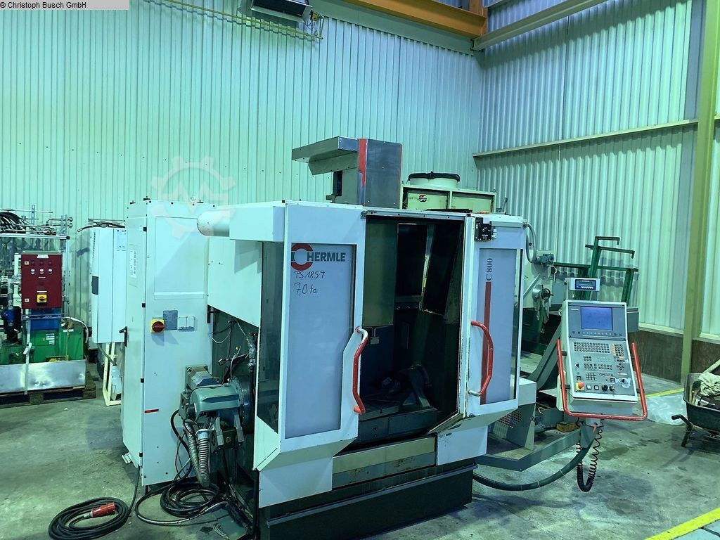 used Milling machines Automatic Milling Machine HERMLE C800