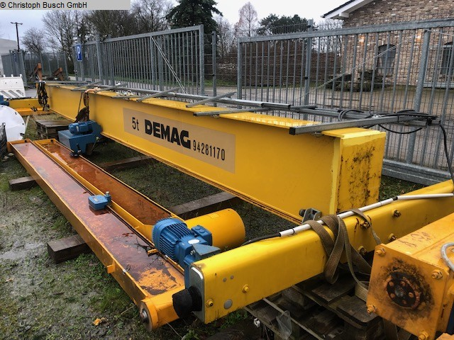 used Other attachments Bridge Crane - Single Beam DEMAG A5