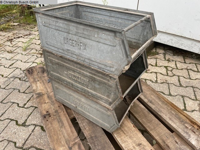 used Plastics / Packaging storage containers SCHÄFER Lagerfix