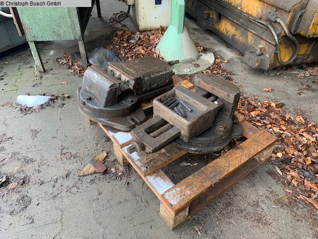 used Other accessories for machine tools Vise UNBEKANNT sehr stabil