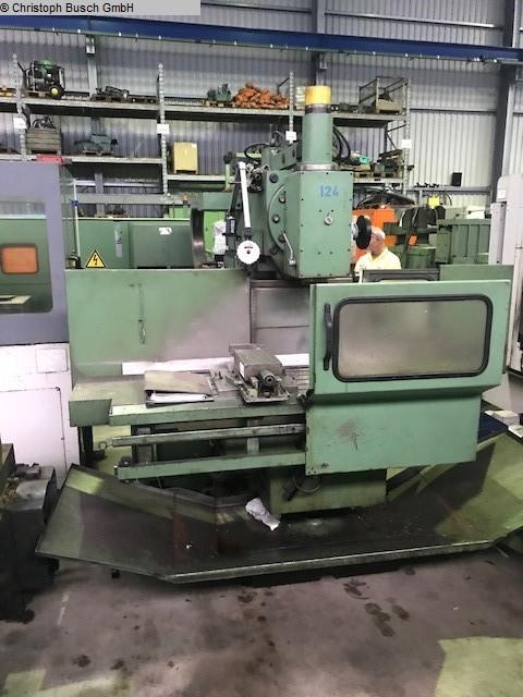 gebrauchte Fräsmaschinen Werkzeugfräsmaschine - Universal TOS FBS 40-50