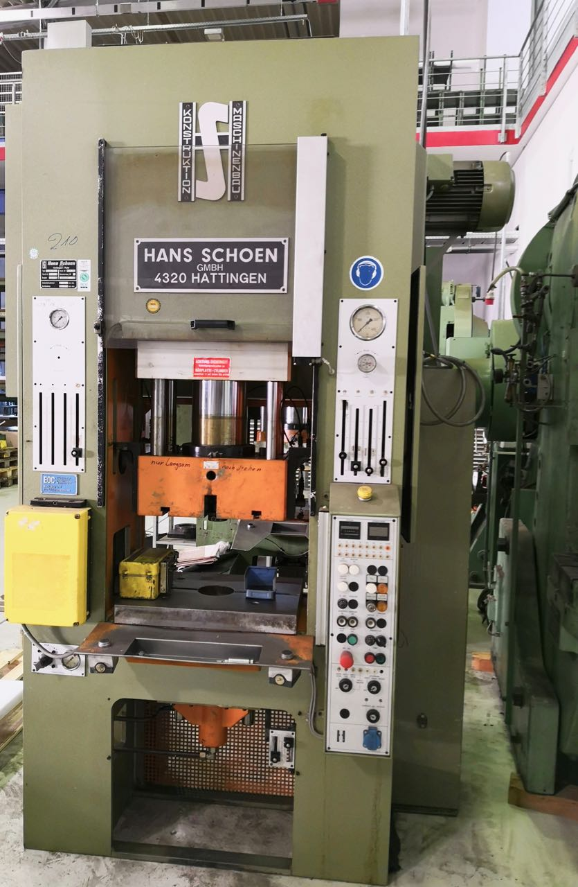used Double-Column Presse SCHOEN SH 40-5