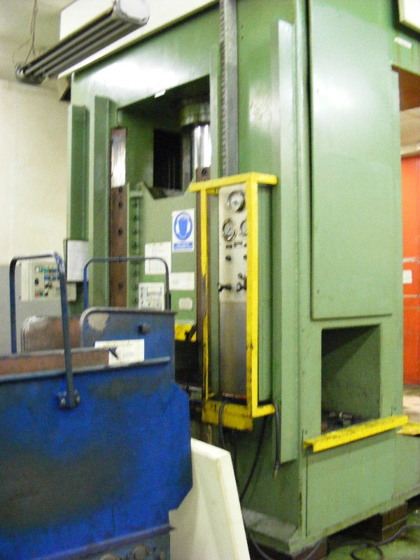 used Presses Double Column Drawing Press - Hydraulic DUNKES HDS 250