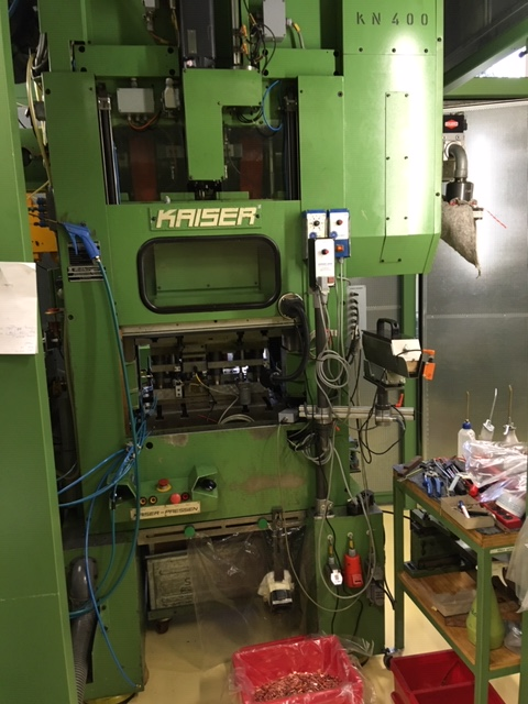used double-sided high speed press KAISER V 40 W / 600