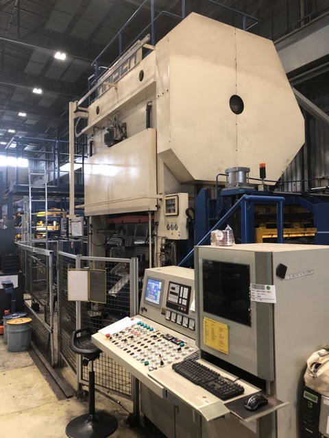 used double-sided high speed press KAISER V 315 WR 2740