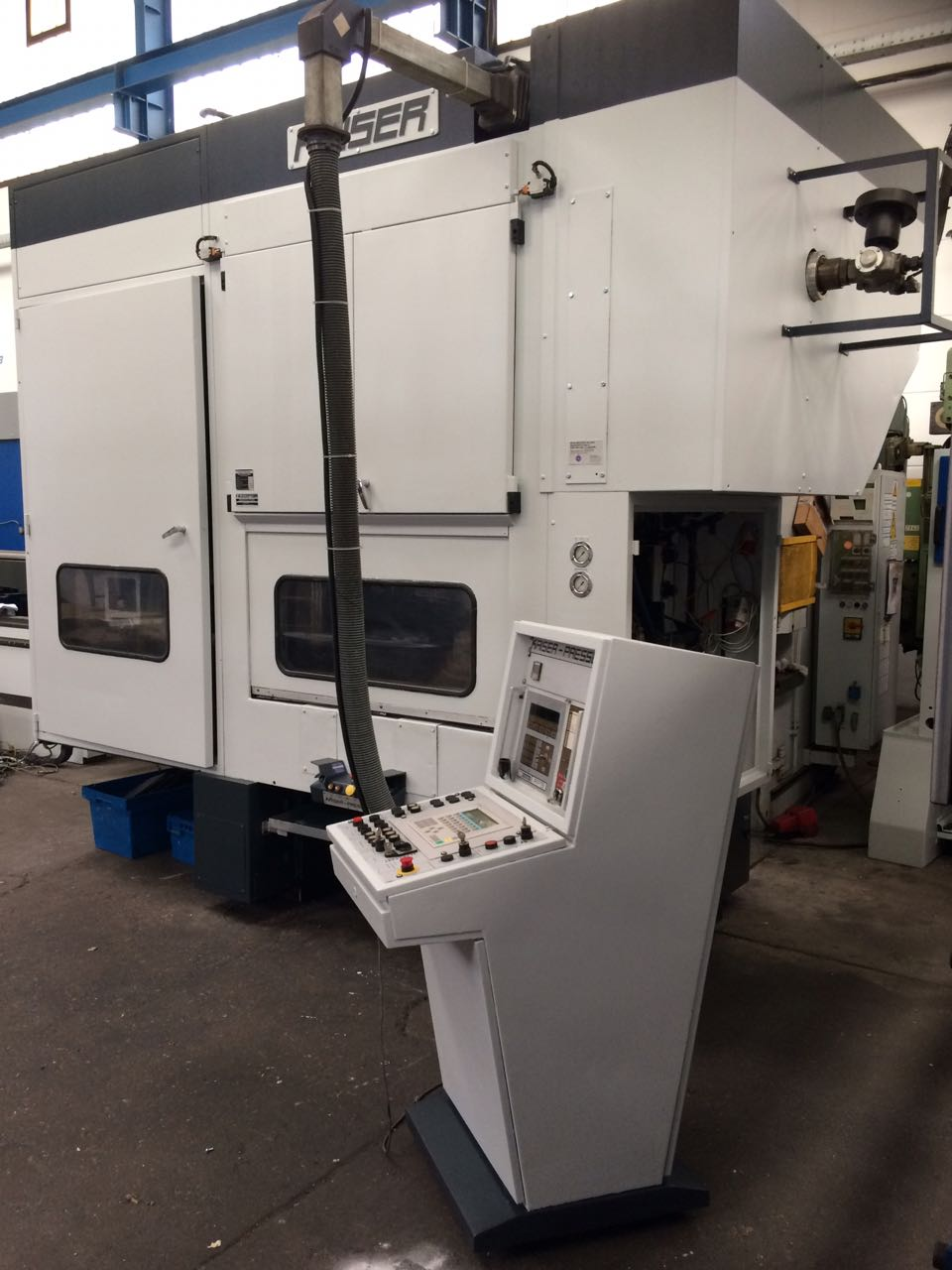 used double-sided high speed press KAISER V 100 W / 1300