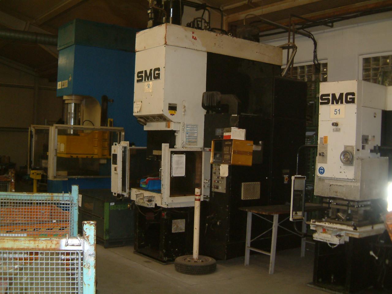 gebrauchte  Einständerpresse - Hydraulisch SMG CSZ 100-1000/600