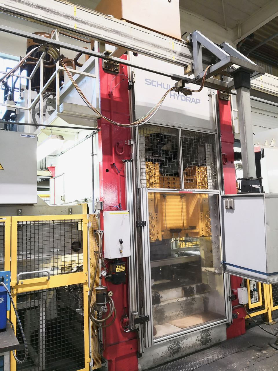 used  Double-Column Presse HYDRAP HPDb 400