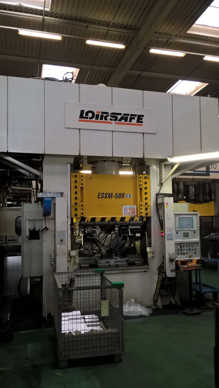 used  Double Column Drawing Press - Hydraulic LOIRESAFE ESSM - 500 / 15-10 / 11-8