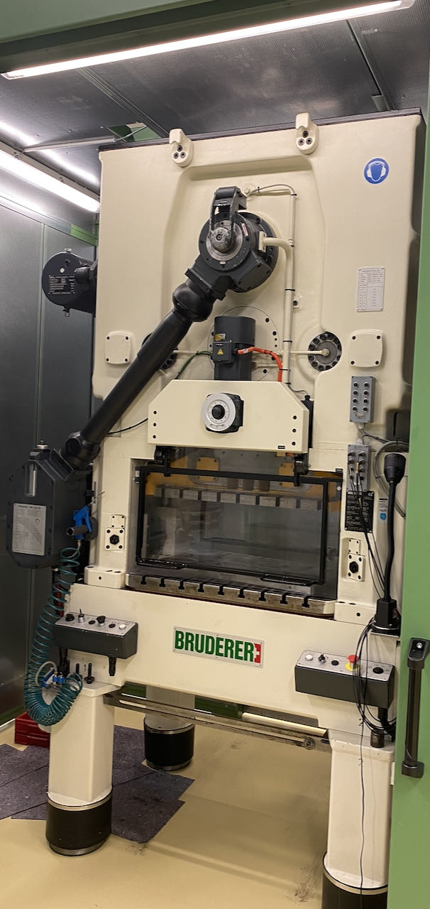 used  double-sided high speed press BRUDERER BSTA 50 RL