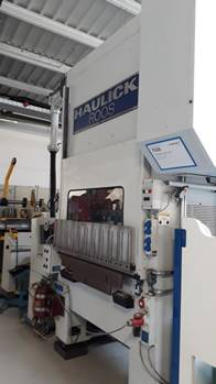 used  double-sided high speed press HAULICK & ROOS RVD 125-1180 NS