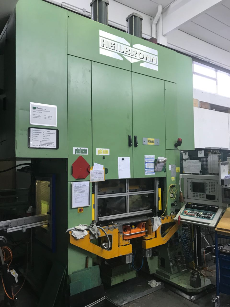 used  double-sided high speed press HEILBRONN REP Z 200 S