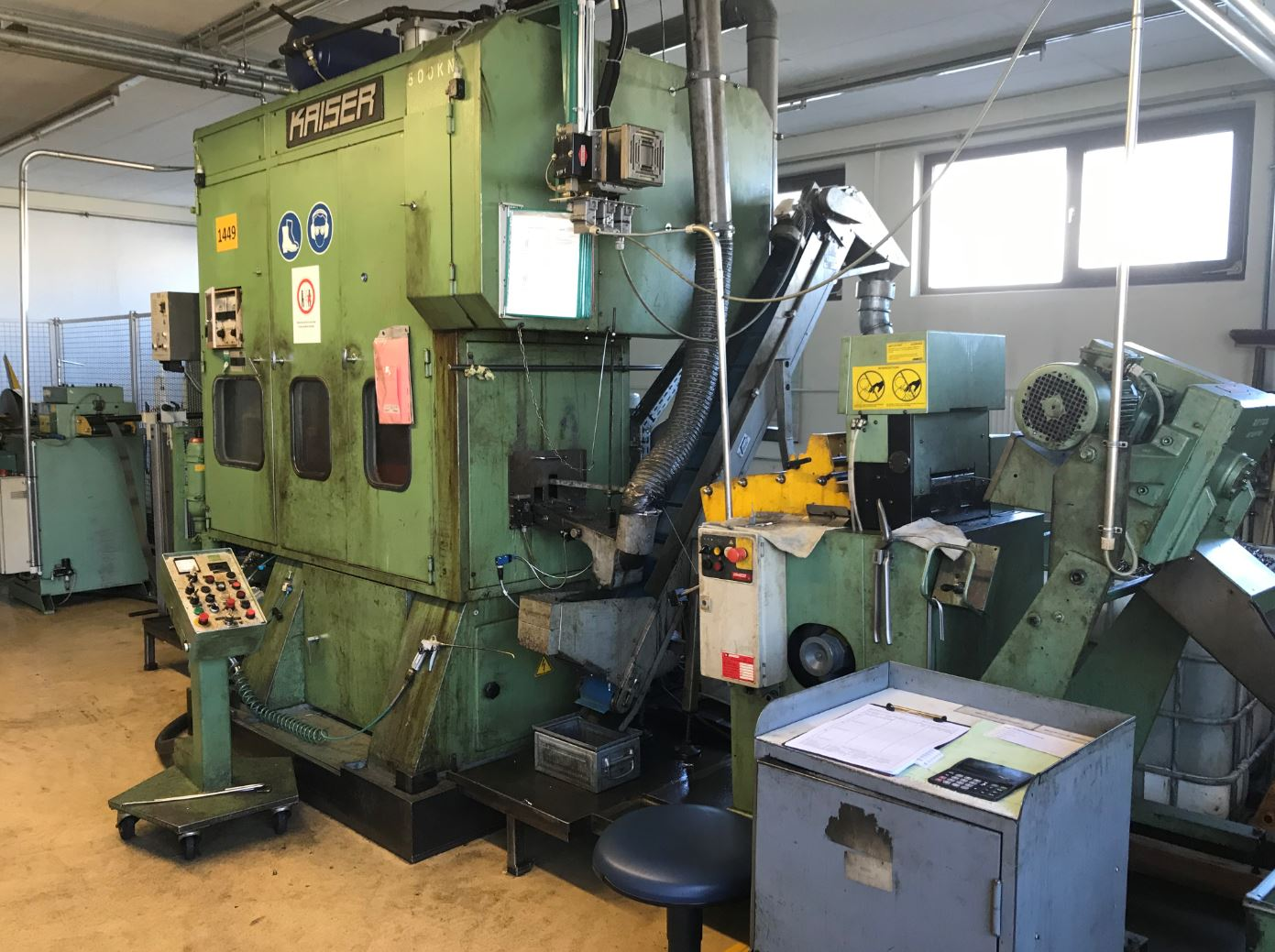used  double-sided high speed press KAISER V 50 W