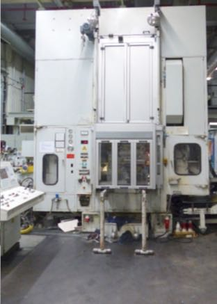 used  double-sided high speed press KAISER V 100 WR 1080