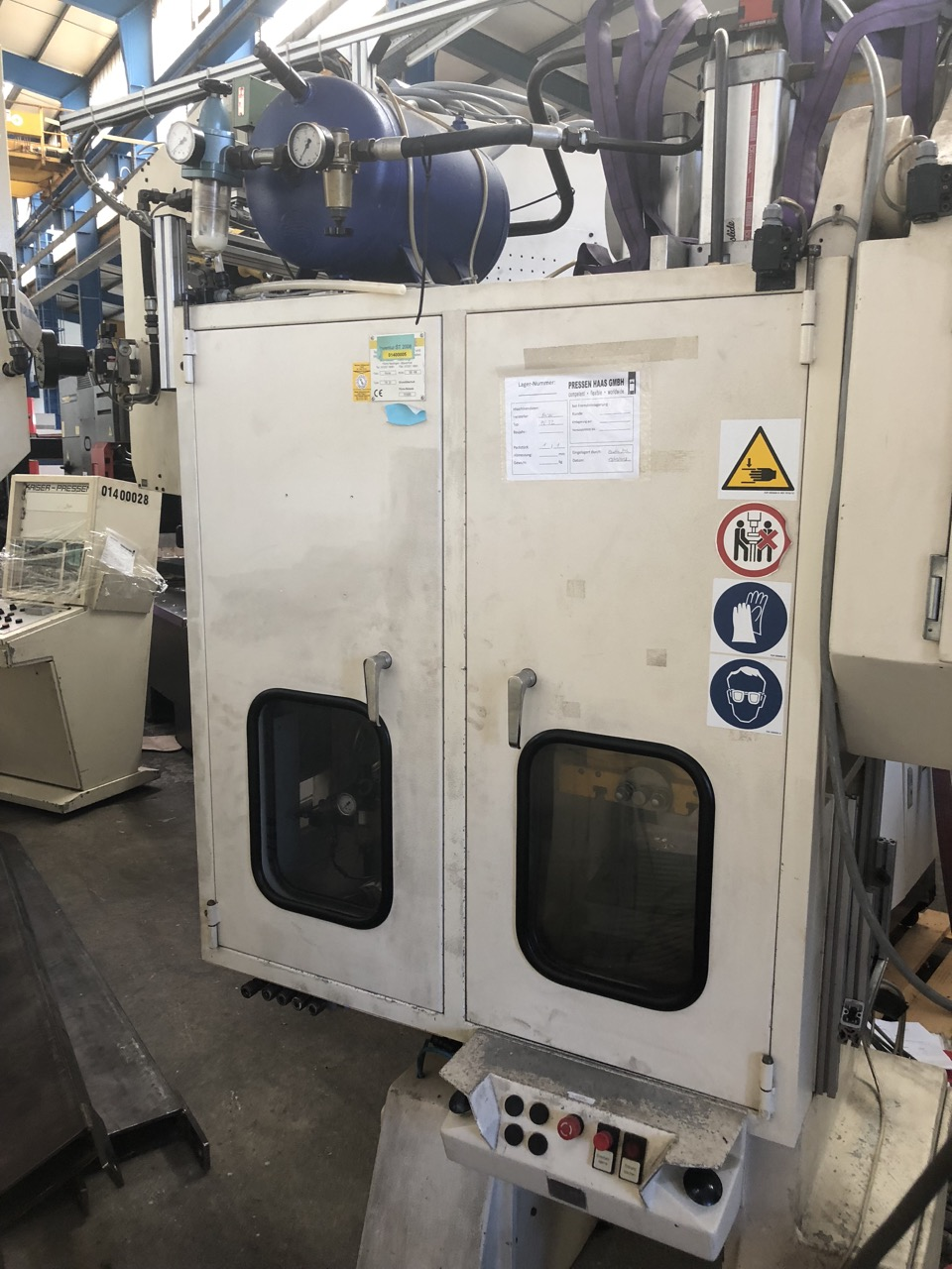 used  double-sided high speed press KAISER PV 32