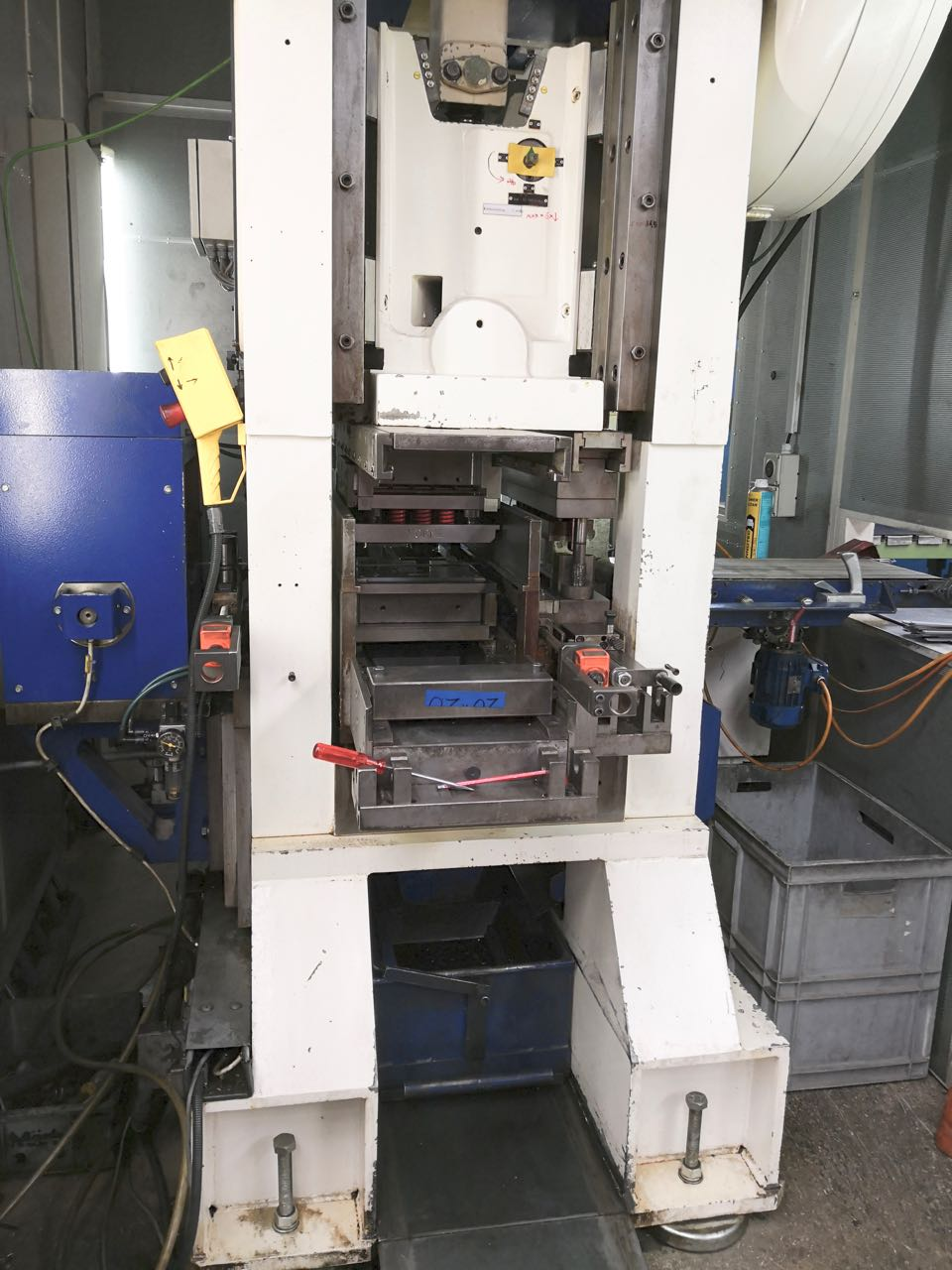 used  double-sided high speed press Müller Gefrees PZK 50x550 S/HK