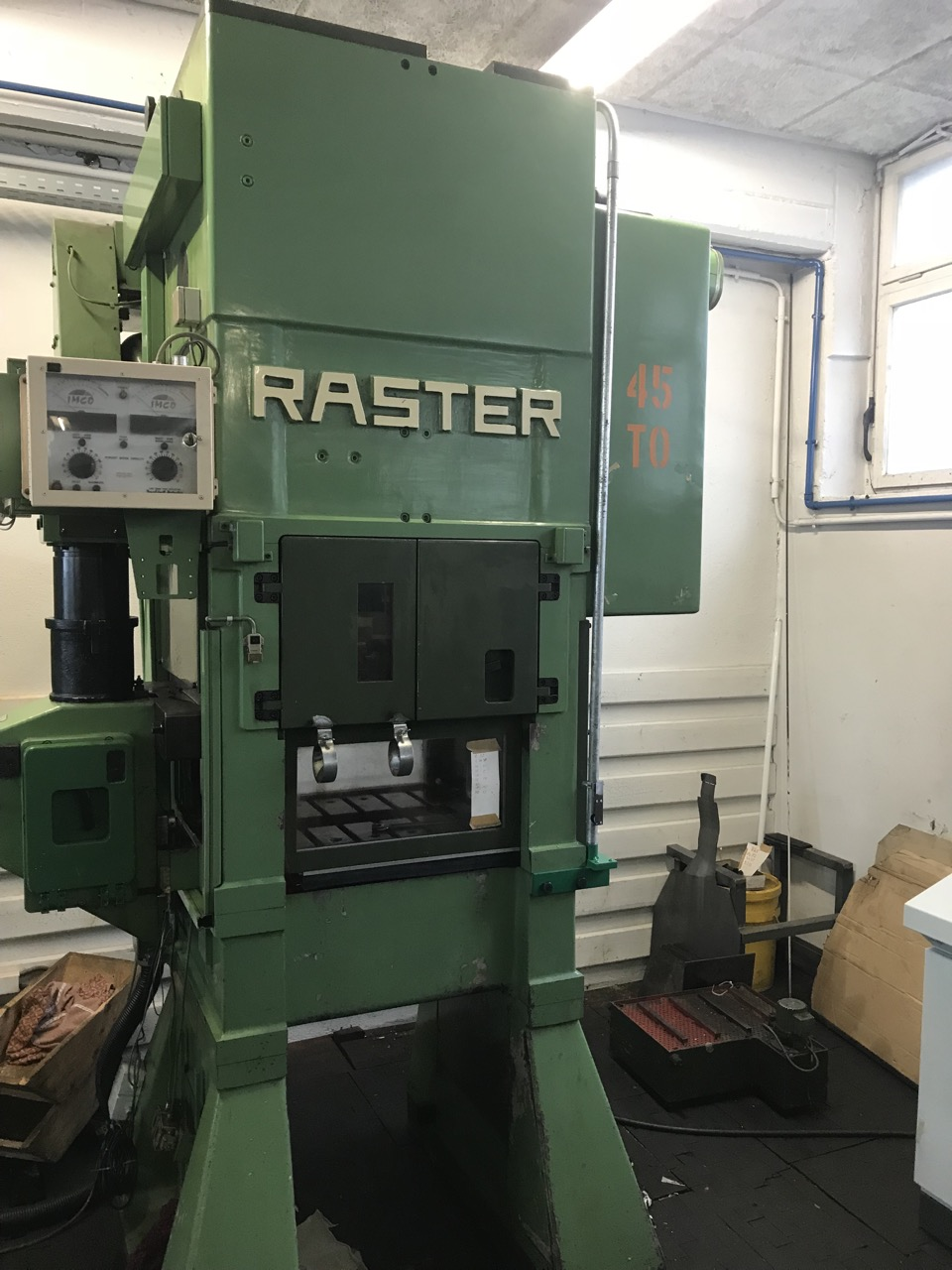used  double-sided high speed press RASTER 45/550 SL-4S