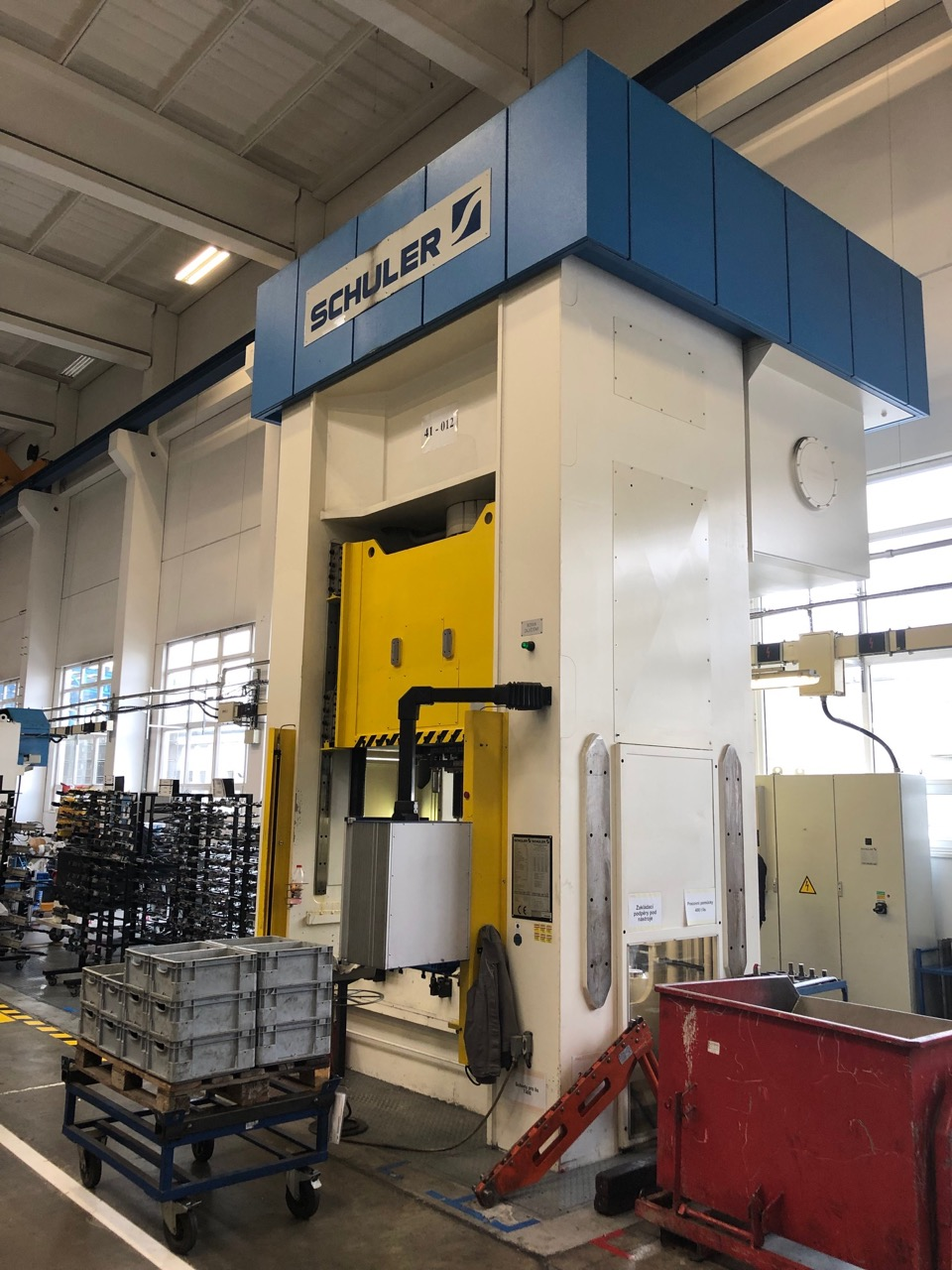 used Presses Double Column Drawing Press - Hydraulic SCHULER SHC 400 1.6x1.3