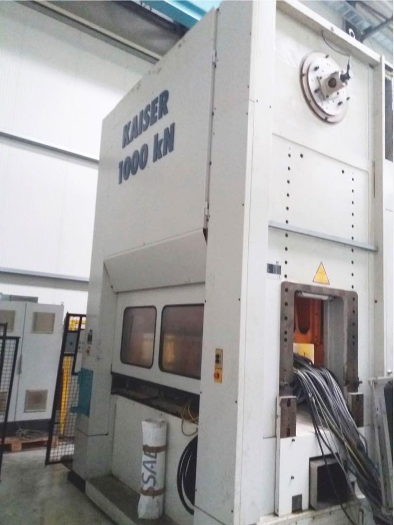gebrauchte Pressen und Bördelmaschinen Stanzautomat-Doppelständer KAISER KSTU 1000 - 20 - 4 P