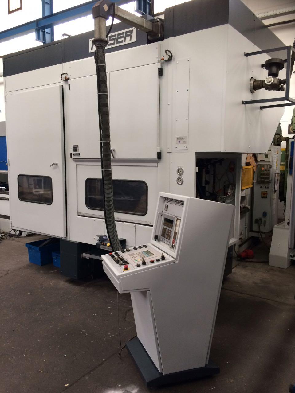 gebrauchte Pressen und Bördelmaschinen Stanzautomat-Doppelständer KAISER V 100 W / 1300