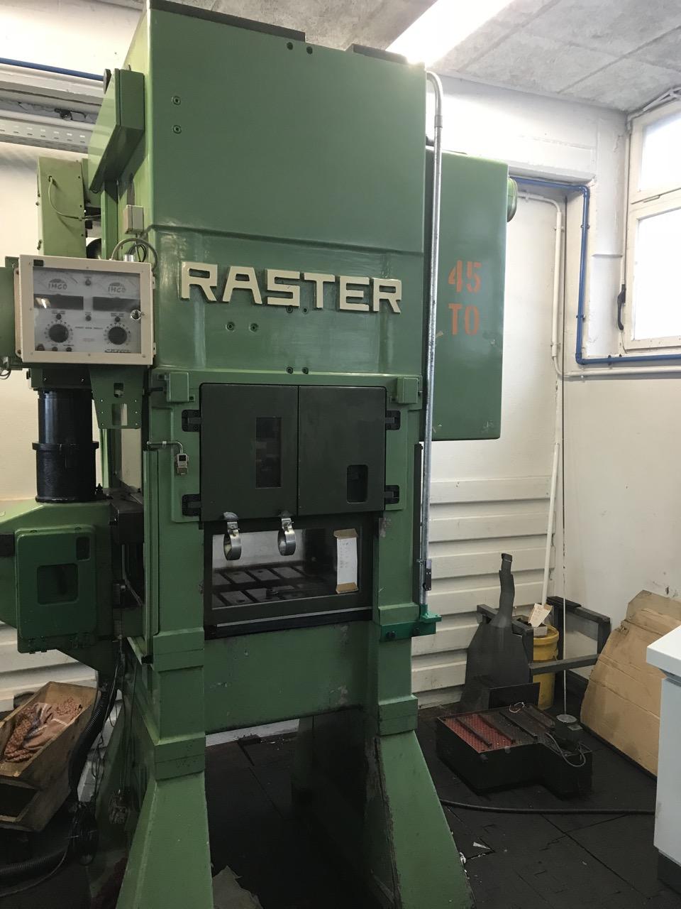gebrauchte Pressen und Bördelmaschinen Stanzautomat-Doppelständer RASTER 45/550 SL-4S