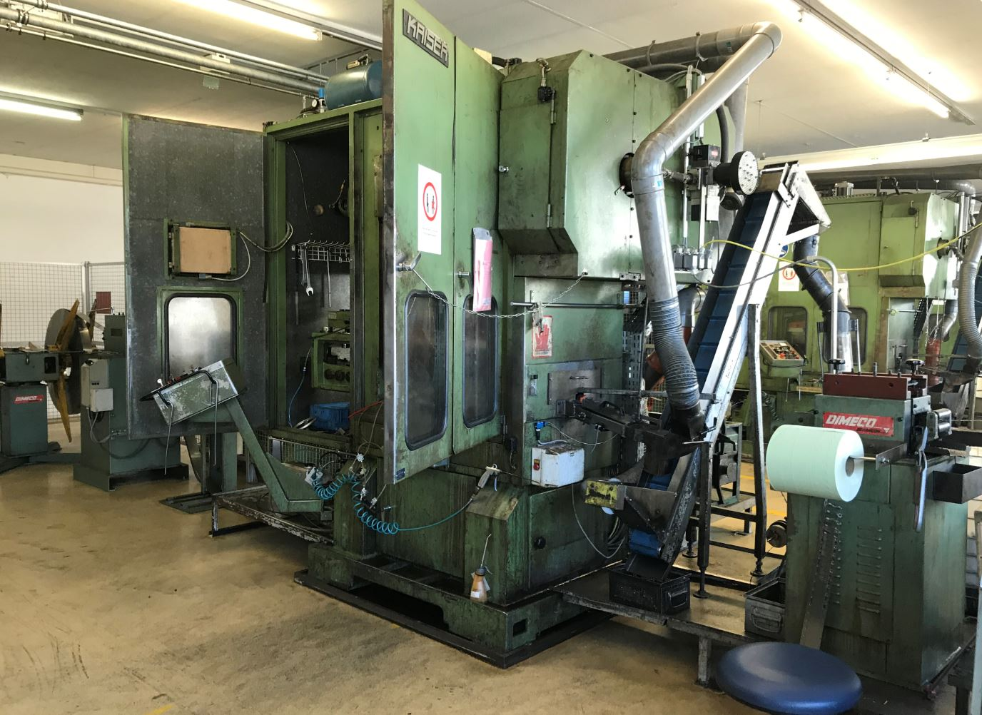 used Presses double-sided high speed press KAISER V 63 W / 860