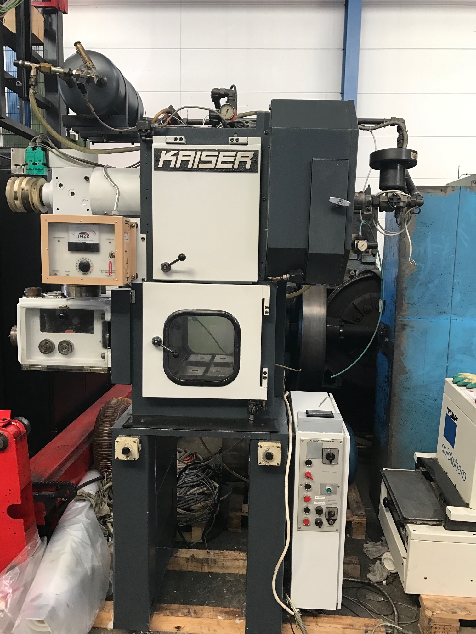 used Presses double-sided high speed press KAISER KP 35